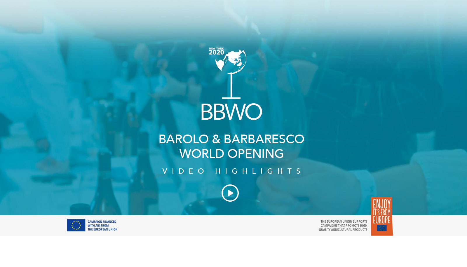 Barolo & Barbaresco World Opening Video Highlights