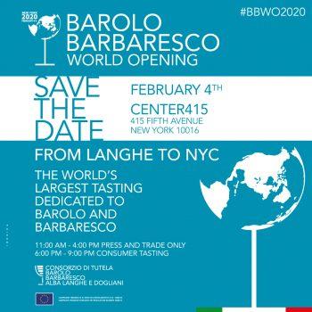 Le Langhe sbarcano a New York con oltre 200 produttori al primo Barolo & Barbaresco World Opening